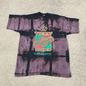 1994 Bleached Charlotte Final Four T-shirt